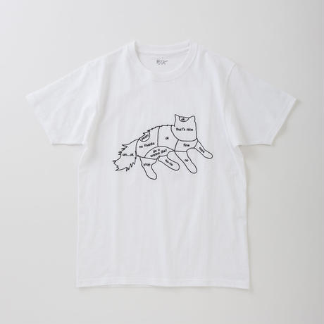 CA8SS-JE61 CAT CHART TEE