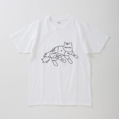 CA8AW-JE61 CAT CHART TEE