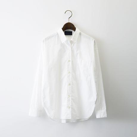 【SALE】1510-01-104 Cotton Typewriter Wide Shirt