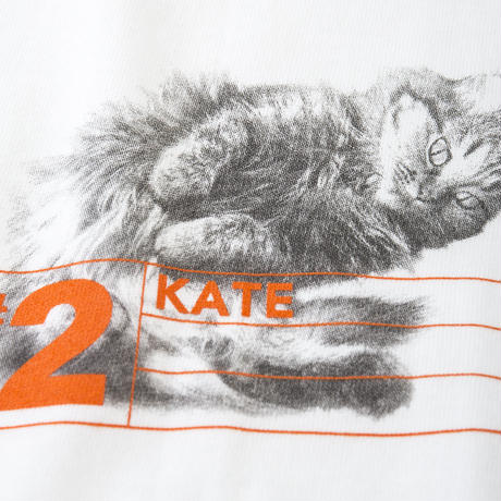 CA8SS-JE32 NUMBERING TEE - #2 KATE