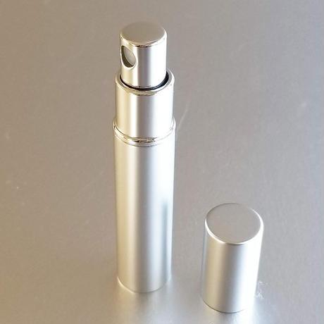 メタルアトマイザー マットシルバー フレグランス詰替え容器・携帯スプレイ