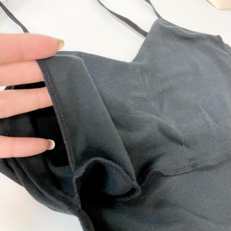 ◆日本製◆ リプセコットン/パット付きキャミソール