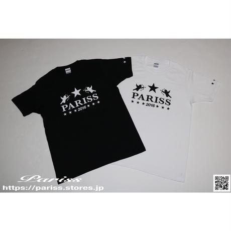 エンジェルスターTシャツ【ブラック・ホワイト】