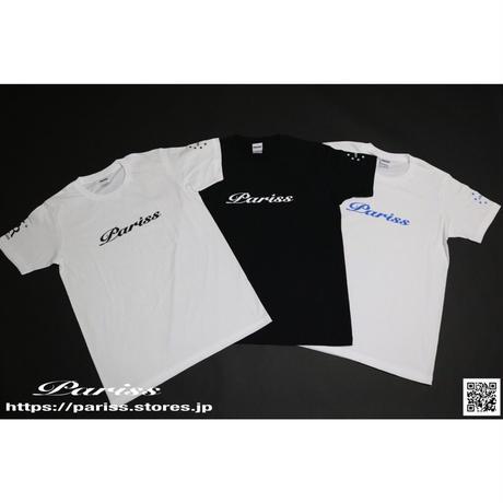 WロゴTシャツ【ブラック×ホワイト・ホワイト×ブラック・ホワイト×ブルー】