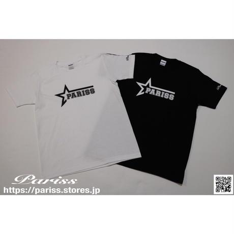 スターロゴTシャツ【ブラック・ホワイト】