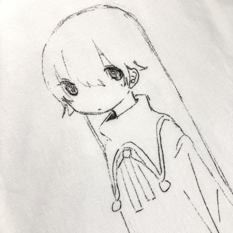 【ゆーきん】図書館ではしずかに Tシャツ