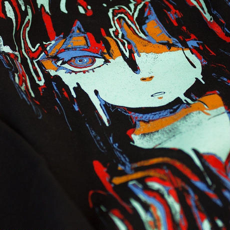 【OMOCAT】MELTYGIRL Black T-Shirt