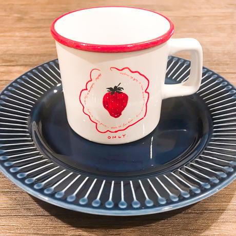 【ひかがみひなみ】いちごだけマグカップ