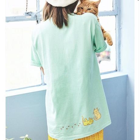 【OMOCAT】CAT T-Shirt