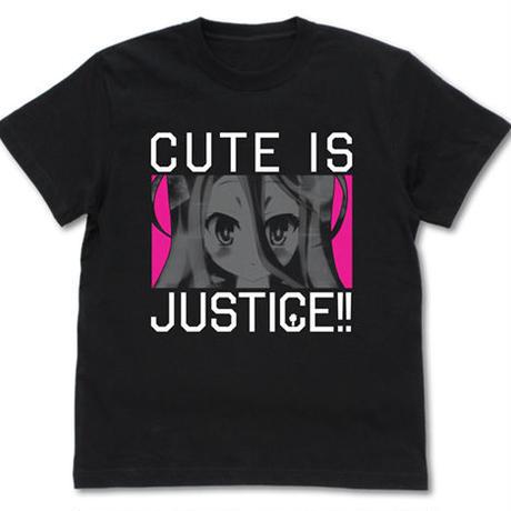 【二次元COSPA】かわいいは正義! Tシャツ [ノーゲーム・ノーライフ]