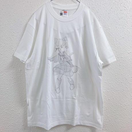 【ゆーきん】きゅっぽんAA Tシャツ