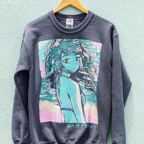 【OMOCAT】TO THE SEA Sweater
