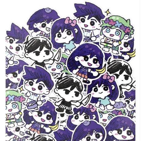 【OMORI】OMORI CHIBI Sticker Set【OMOCAT】