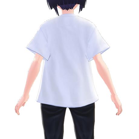 【VRoid用テクスチャ】綿紬ことこ フルグラフィックTシャツ