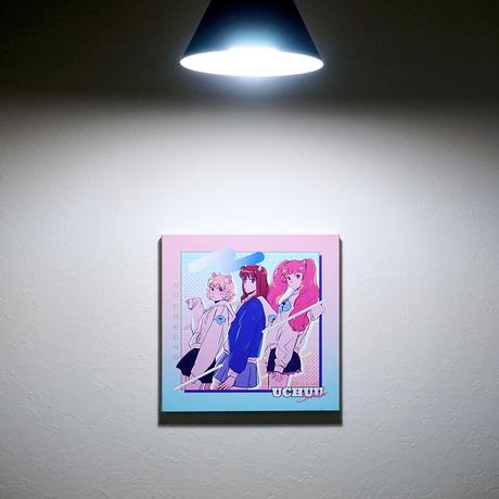 【宇宙サマー×PARK】コラボイラスト キャンバスボード