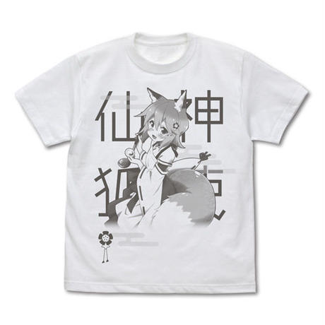 【二次元COSPA】世話やきキツネの仙狐さん 神使仙狐さん Tシャツ