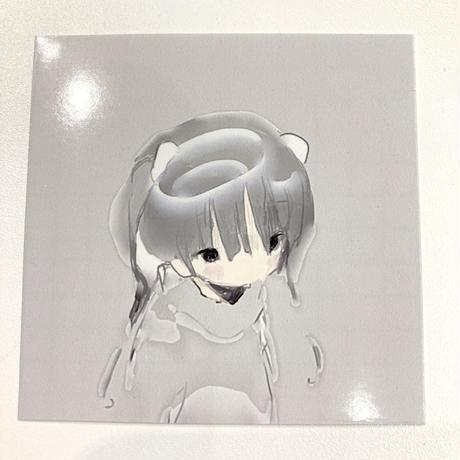 【ゆーきん】Qシール ステッカー