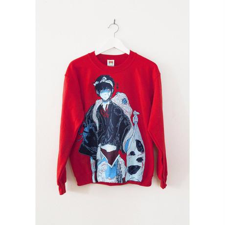 【OMOCAT】FISHBOY Sweater