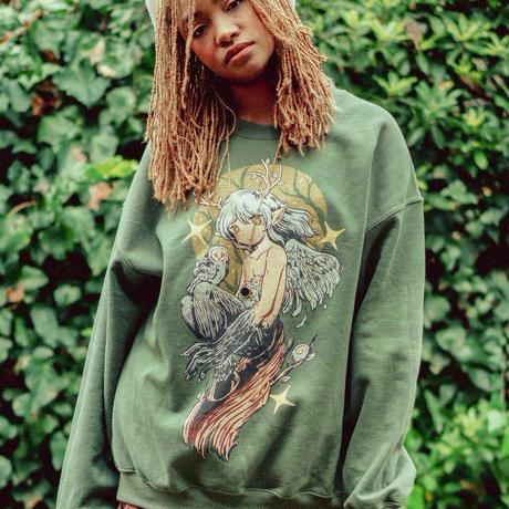 【OMOCAT】FOREST SPIRIT Sweater