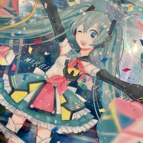 【YUtuKI/明晰夢】クリアポスター