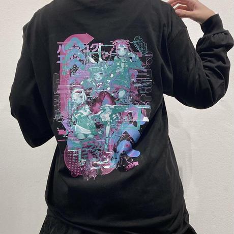電音部 GraphersRock ver L/S Tee shirts (BIGsize)