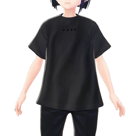 【VRoid用テクスチャ】Chill out Tシャツ