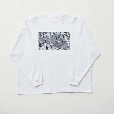 "【 jumeaux】jmx ""us"" long sleeve Tee"