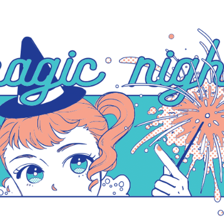 【宇宙サマー】MAGIC NIGHT HOODIE
