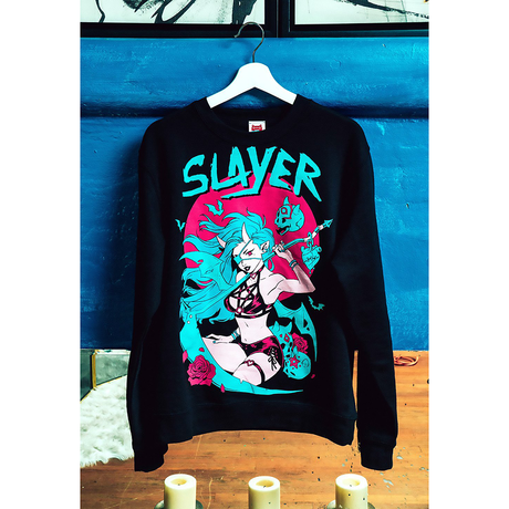 【OMOCAT×MANDA SCHANK】SLAYER Sweater