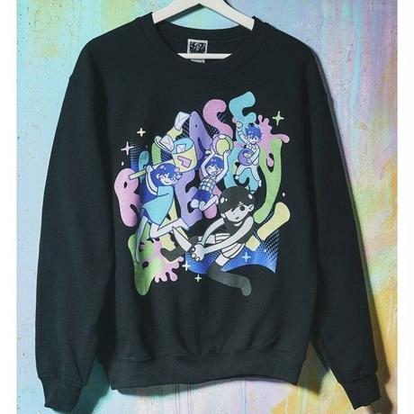 【OMORI】RELEASE ENERGY! Sweater【OMOCAT】
