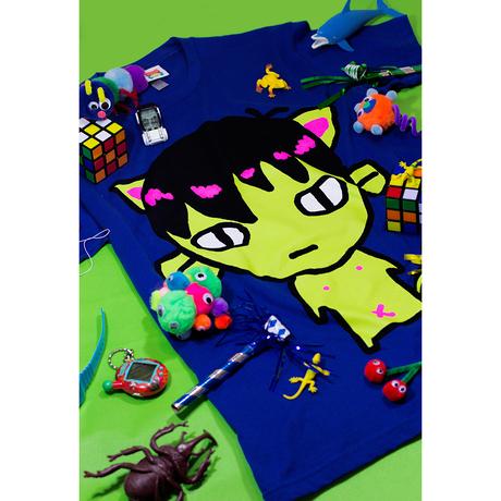 【OMOCAT】GOOD T-Shirt (DARK BLUE)
