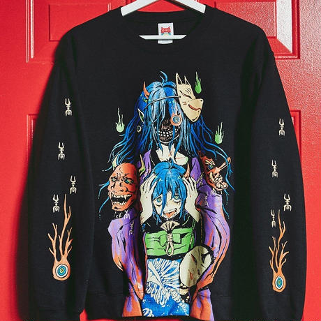 【OMOCAT】MASK COLLECTOR Sweater