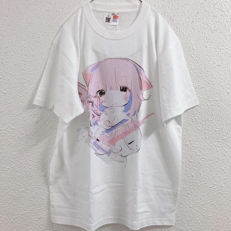 【ゆーきん】朦朧(桃) Tシャツ