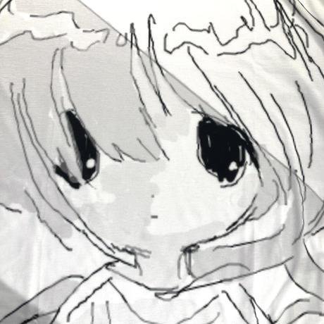 【ゆーきん】フルグラフィック 雨の日花王 Tシャツ