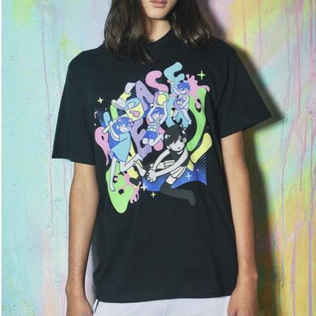 【OMORI】RELEASE ENERGY!  T-Shirt【OMOCAT】