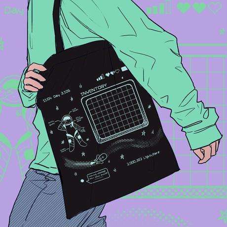【宇宙サマー】SPACE RPG PIN DISPLAY TOTE