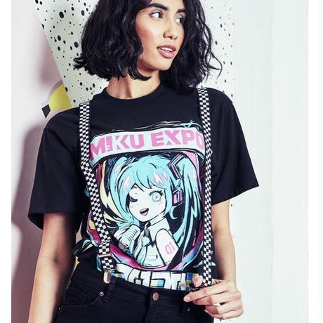 【OMOCAT×初音ミク】MIKU EXPO 2020 T-Shirt