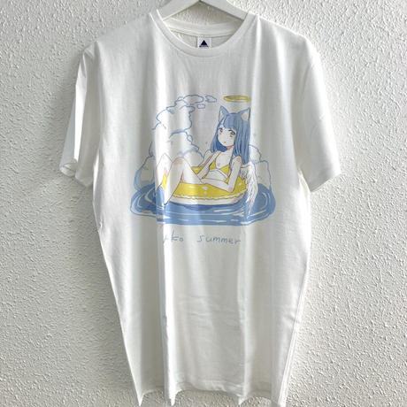 【YUtuKI/明晰夢】ねこサマーTシャツ