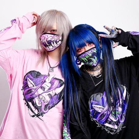 【Invasion club】GIRLS AND GORE F**K CORONA マスク