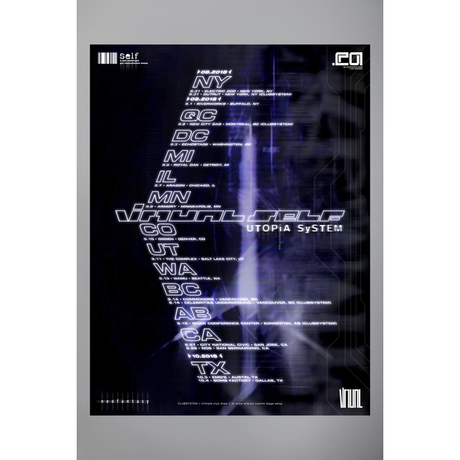 【Virtual Self】UTOPIA SYSTEM POSTER