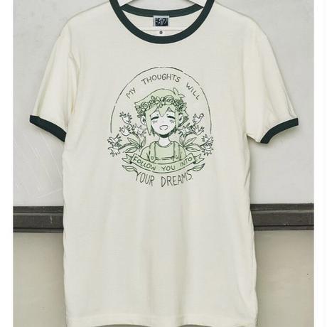 【OMORI】BASIL'S HOPE Ringer  T-Shirt【OMOCAT】