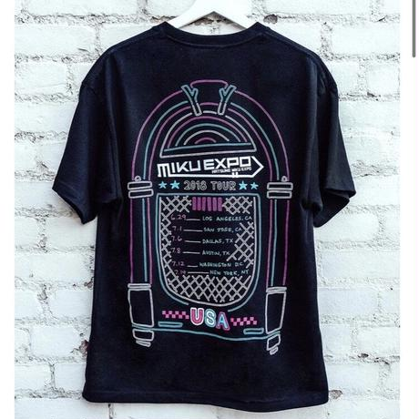 【OMOCAT×初音ミク】MIKU EXPO U.S.A. TOUR T-Shirt