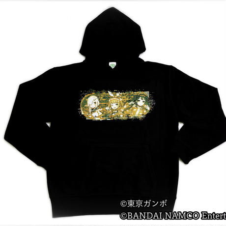 電音部 GraphersRock ver Hooded Parka (BIGsize)