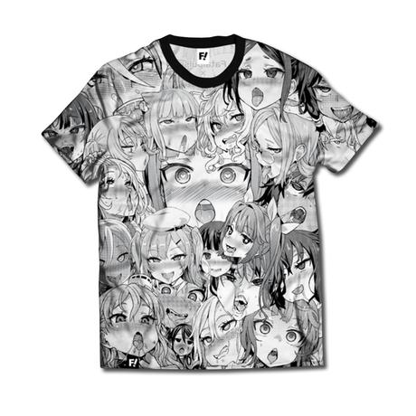 【FAKKU】Ahegao  T-shirt