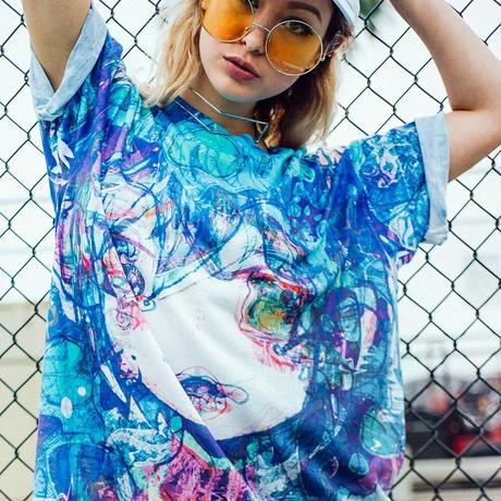 【OMOCAT】TEARS T-Shirt