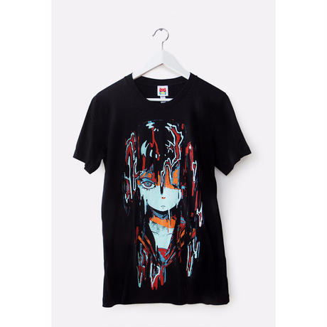 【OMOCAT】MELTYGIRL Black T-Shirt