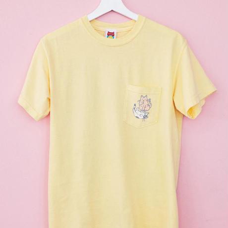 【OMOCAT】CAT Pocket T-Shirt