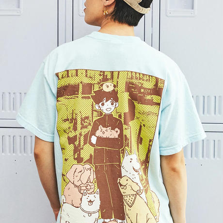 【OMOCAT】DOG Pocket T-Shirt