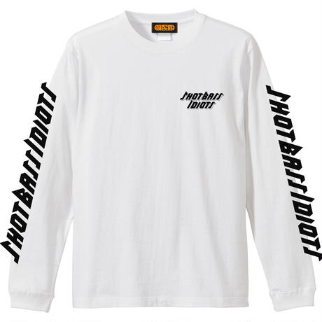 【KOKUMIN-FUKU】『Shot Bass Idiots』 ロゴ ロングスリーブTシャツ
