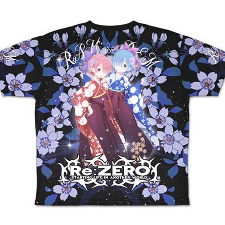 【二次元COSPA】レム&ラム両面 フルグラフィックTシャツ [Re:ゼロから始める異世界生活]